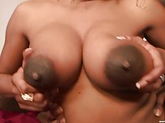 Brielle Gets Cum All Over Her Tits!