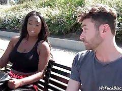 Black Babe Wants To Fuck With White Super Stud 1